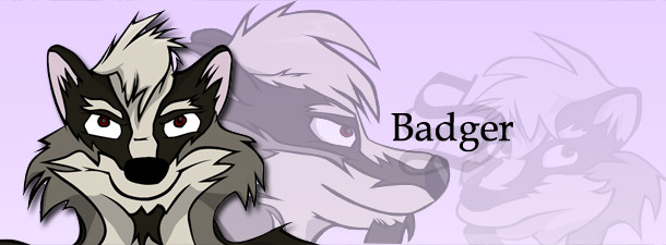 S the Badger - Title