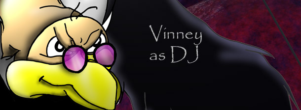 DJ Vinney the Vulture - title.