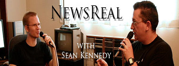 NewsReal with Sean Kennedy - Title.