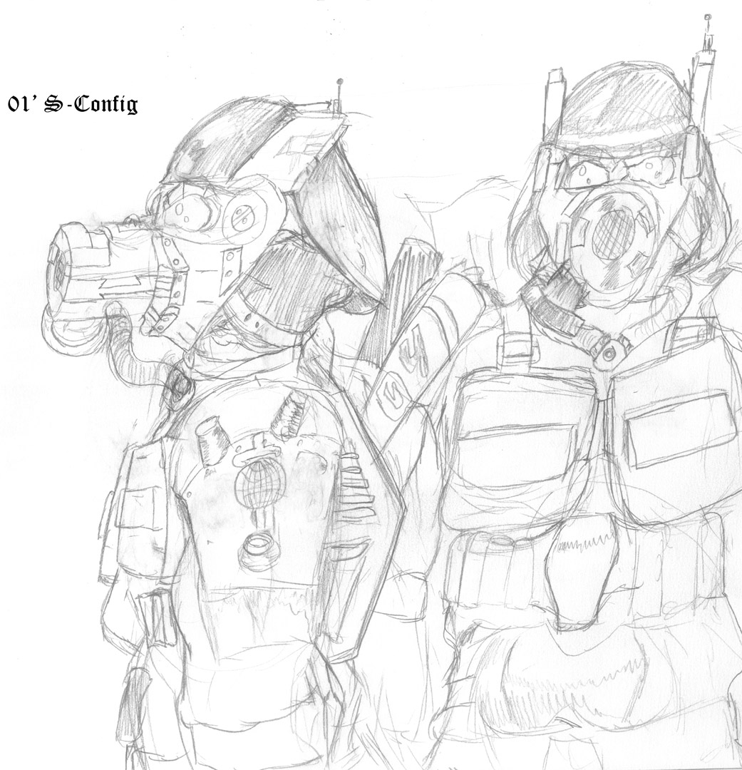 Flay Heavy Armor Sketch Green book 38