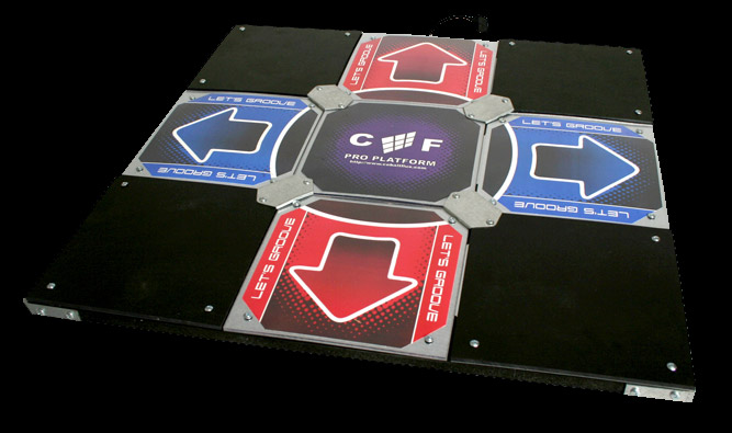 cobalt flux dance mat for StepMania