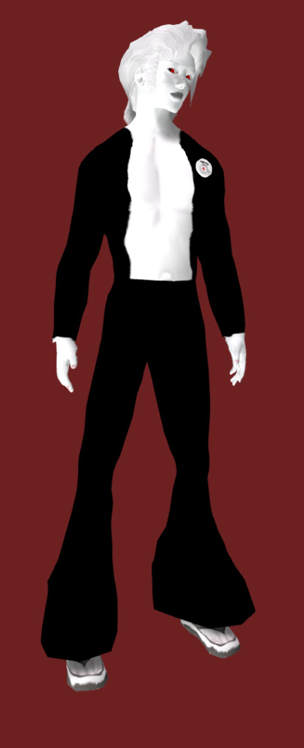 Riot Ornitz of Second life Gen 0 Human avatar.