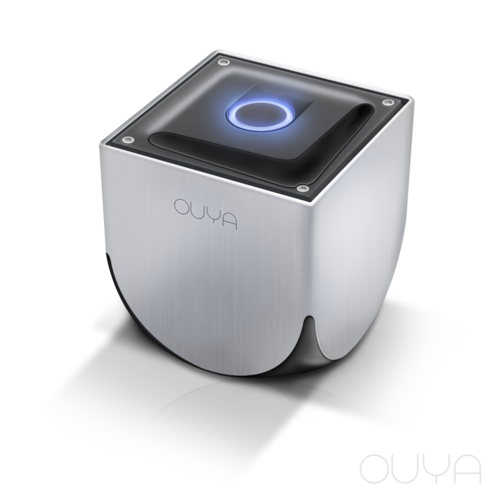 The Ouya Console Retail production by itself