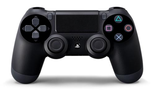 Playstation 4 controller in Comparison to Ouya Controller