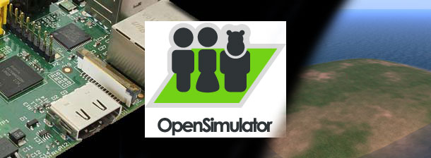 OpenSimulator on Raspberry Pi - Title