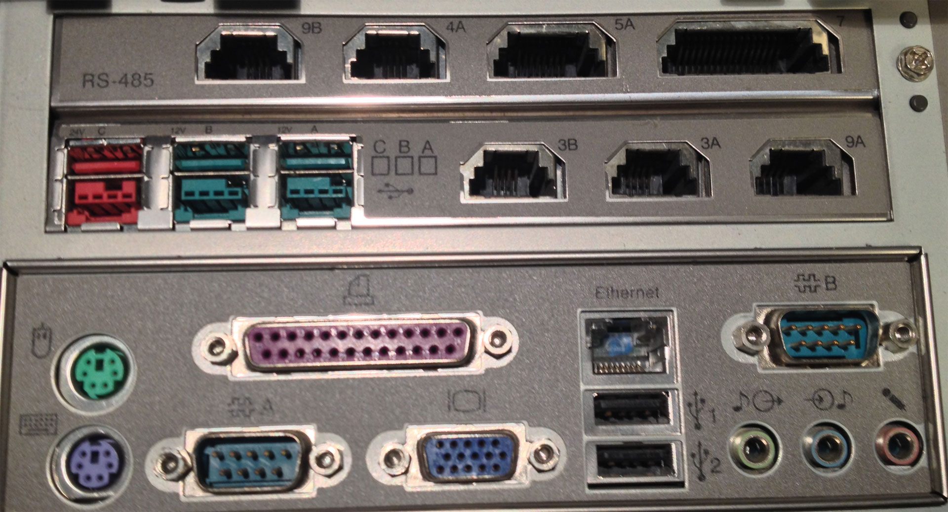 SurePOS-4800-Edge connectors and ports