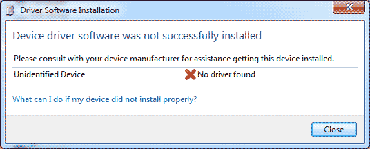 Driver not found to the XBox 360 Wireless Controller