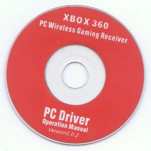 Fake Chineese Xbox 360 Wireless Receiver Driver CD