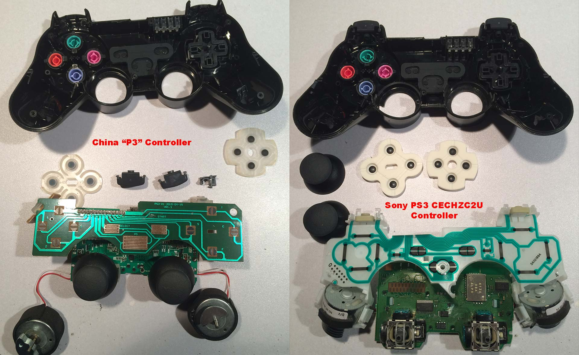 PS3 Third Party a k a  The P3 Controller - S-Config