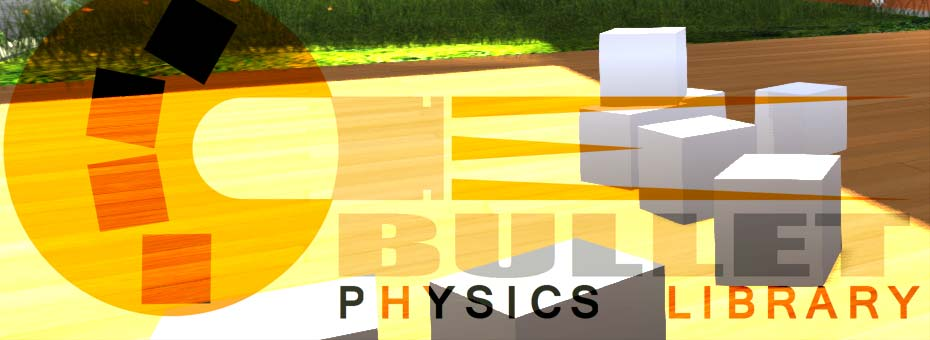 OpenSimulator Bullet Physics Library Logo Title
