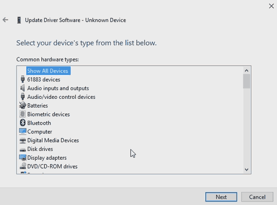 XBCD - Device Manager - All Devices.