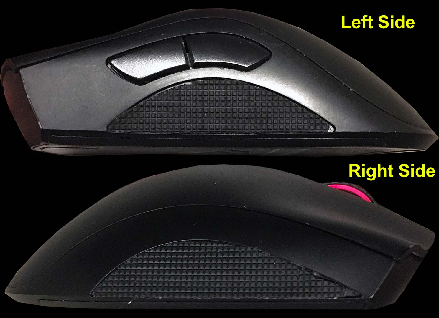 rubber sticker grips for gaming mice