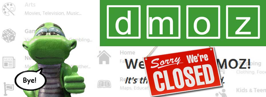DMOZ left and thanked us all for the fish!