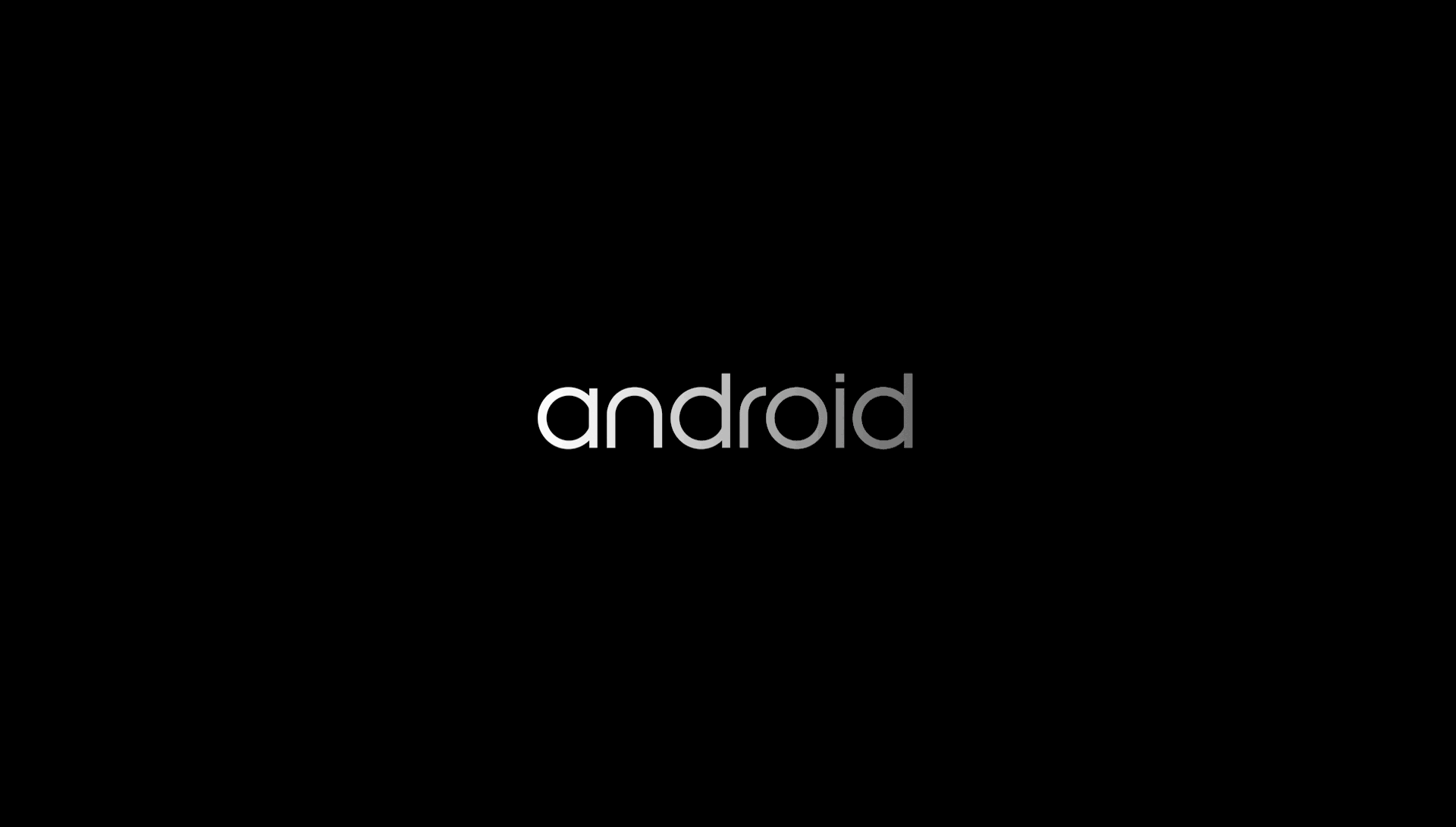 AOSP Ouya Android 5.0 tutorial - boot screen.