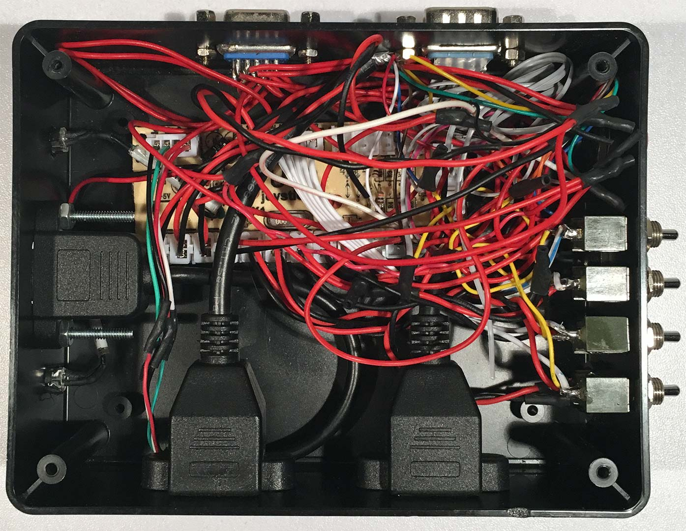 Zero Delay Usb Joystick Encoder S Config Control Board Wiring Diagram Terrible Job Of My
