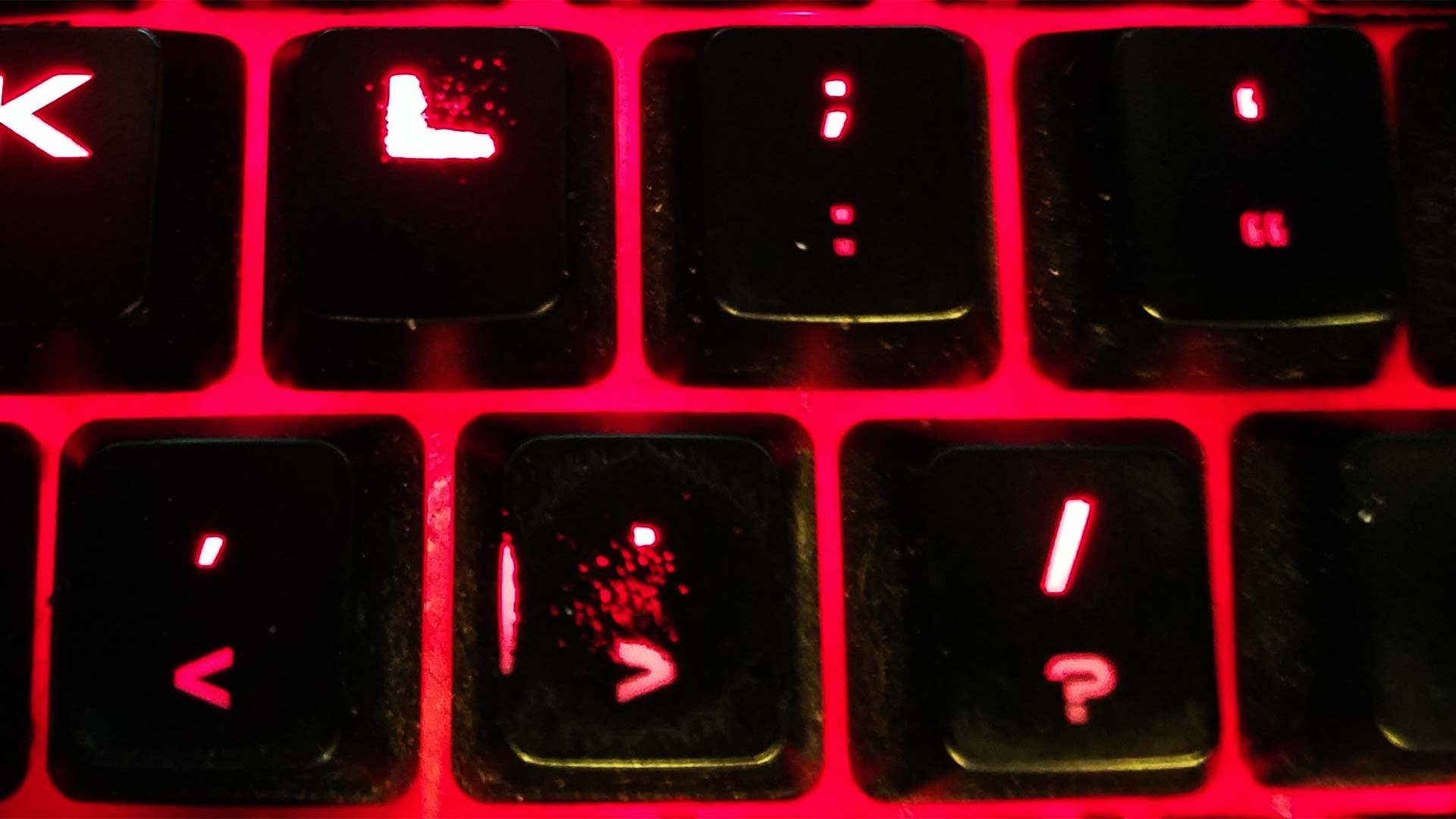 Corsair K70 - Doubleshot Key failure.